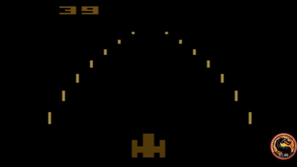 omargeddon: Night Driver: Game 2AB (Atari 2600 Emulated) 39 points on 2019-05-05 12:33:17