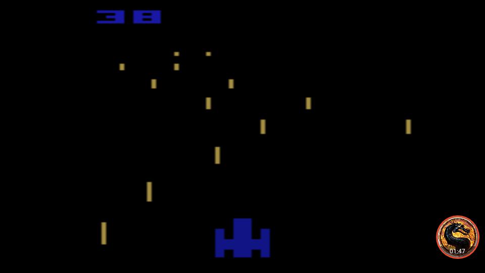omargeddon: Night Driver: Game 2BA (Atari 2600 Emulated) 38 points on 2019-05-05 12:32:41