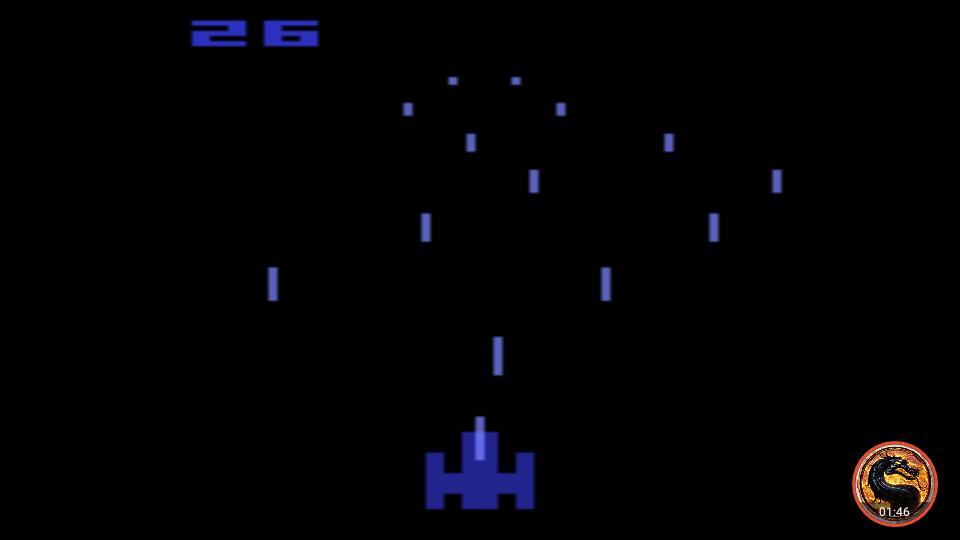 omargeddon: Night Driver: Game 3AB (Atari 2600 Emulated) 26 points on 2019-05-05 12:34:40