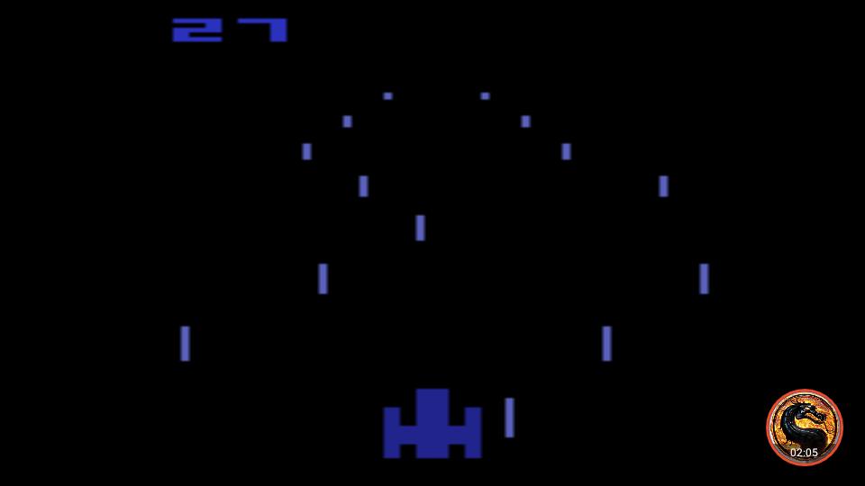 omargeddon: Night Driver: Game 3BA (Atari 2600 Emulated) 27 points on 2019-05-05 12:33:52