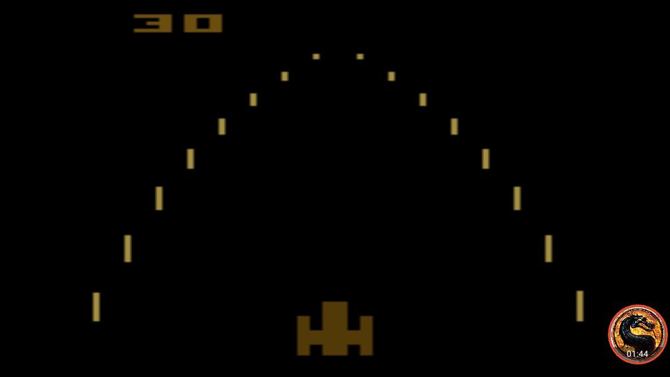 omargeddon: Night Driver: Game 4AB (Atari 2600 Emulated) 30 points on 2019-05-05 12:35:54