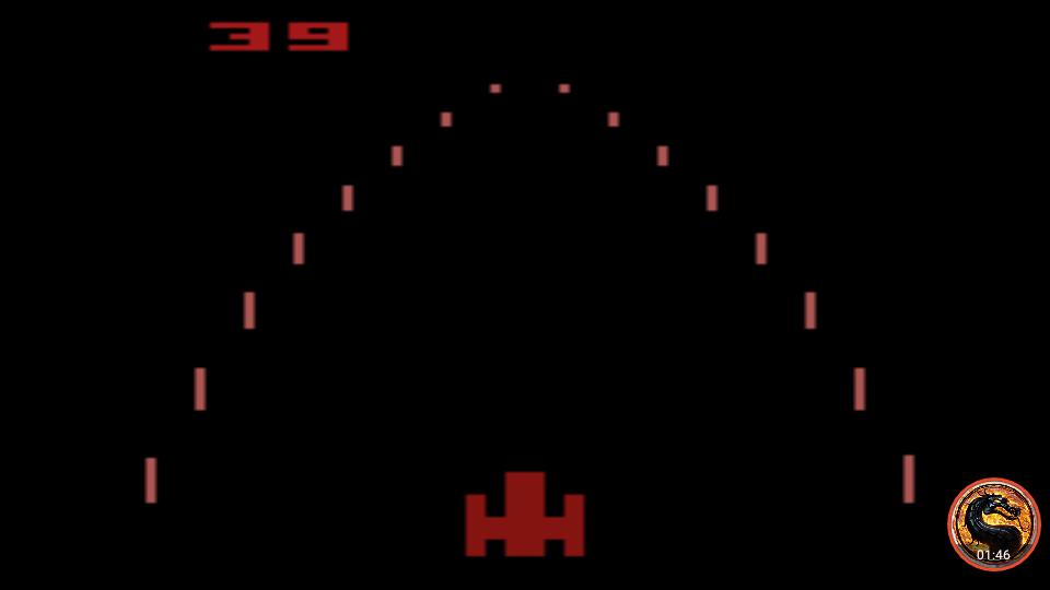 omargeddon: Night Driver: Game 4BA (Atari 2600 Emulated) 39 points on 2019-05-05 12:35:17