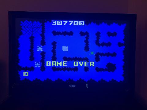Rickster8: Night Stalker: Game Disc [Fastest] (Intellivision Emulated) 307,700 points on 2020-09-08 12:24:16