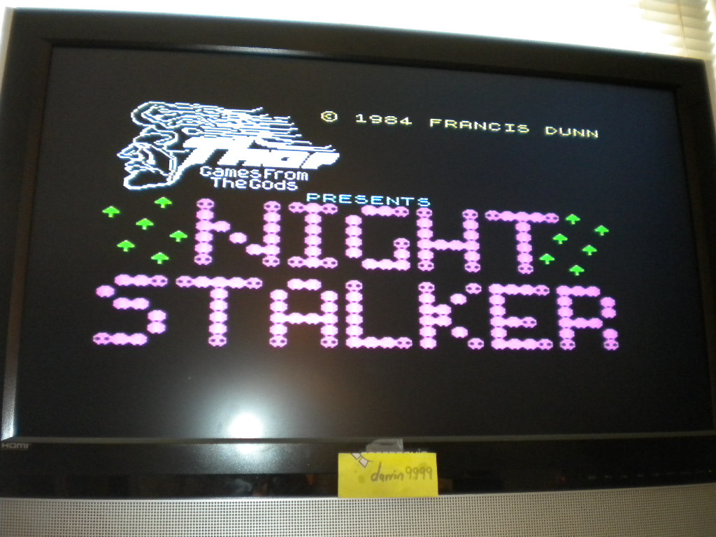 darrin9999: Night Stalker [Level: 0] (ZX Spectrum Emulated) 3,840 points on 2016-07-21 16:19:21