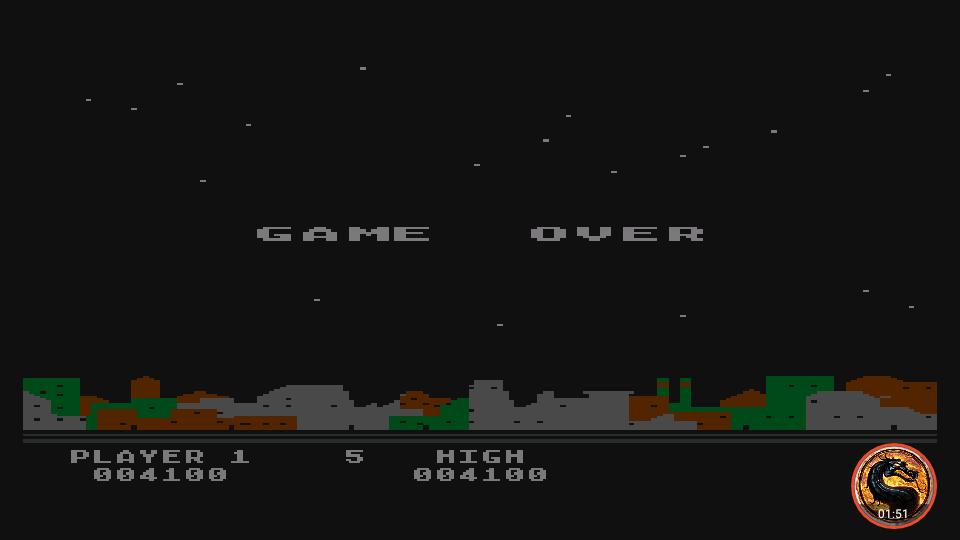 omargeddon: Night Strike [Level 4] (Atari 400/800/XL/XE Emulated) 4,100 points on 2019-04-15 07:19:54