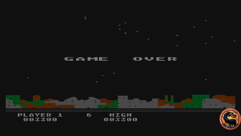 omargeddon: Night Strike [Level 6] (Atari 400/800/XL/XE Emulated) 3,300 points on 2019-04-15 07:21:25