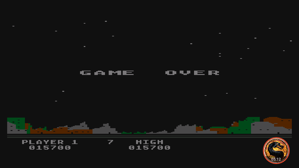 omargeddon: Night Strike [Level 6] (Atari 400/800/XL/XE Emulated) 15,700 points on 2019-11-18 18:29:25