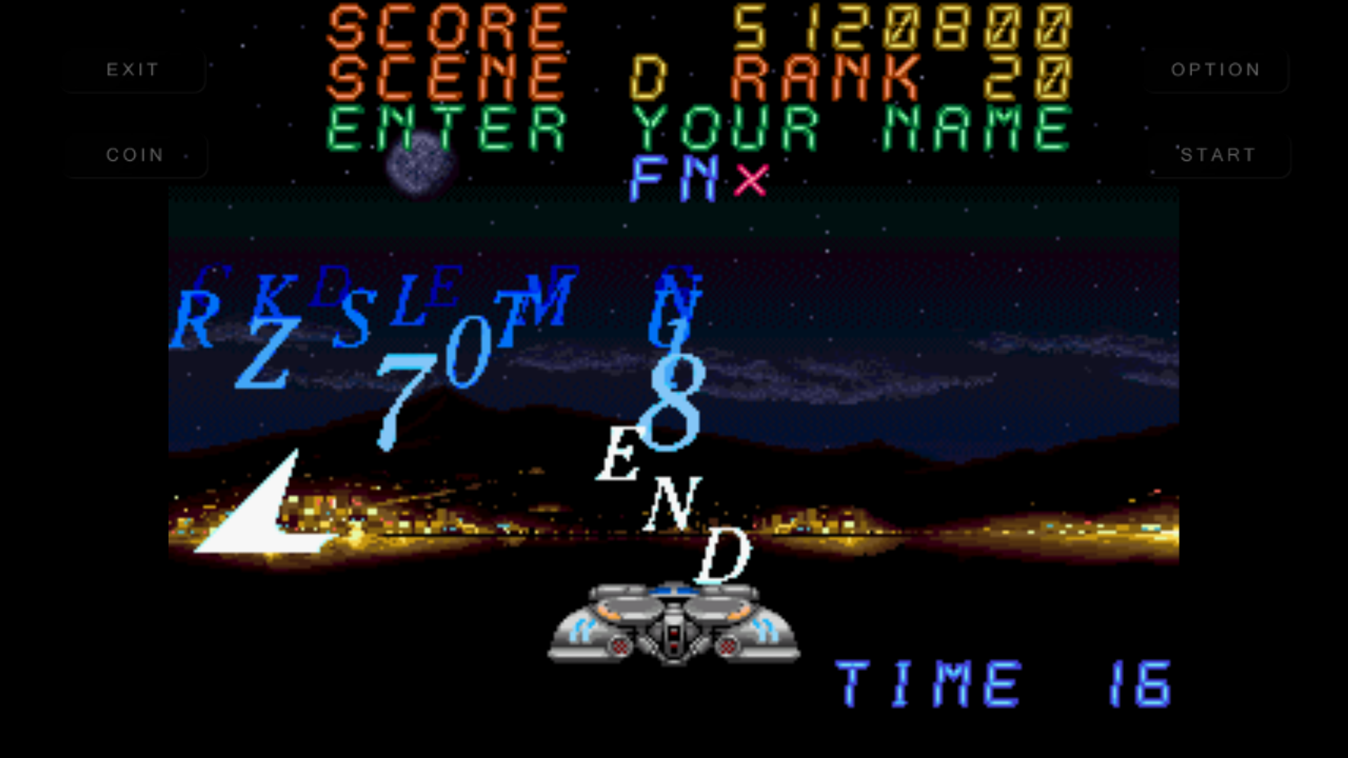 mechafatnick: Night Striker [nightstr] (Arcade Emulated / M.A.M.E.) 5,120,800 points on 2016-06-08 12:11:13