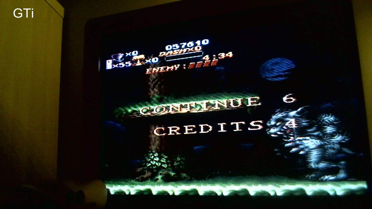 GTibel: Nightmare Busters [Easy] (SNES/Super Famicom) 57,610 points on 2016-11-12 09:56:38