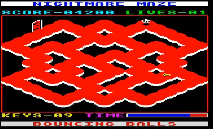 LuigiRuffolo: Nightmare Maze (Acorn Electron Emulated) 4,200 points on 2020-07-30 17:33:52