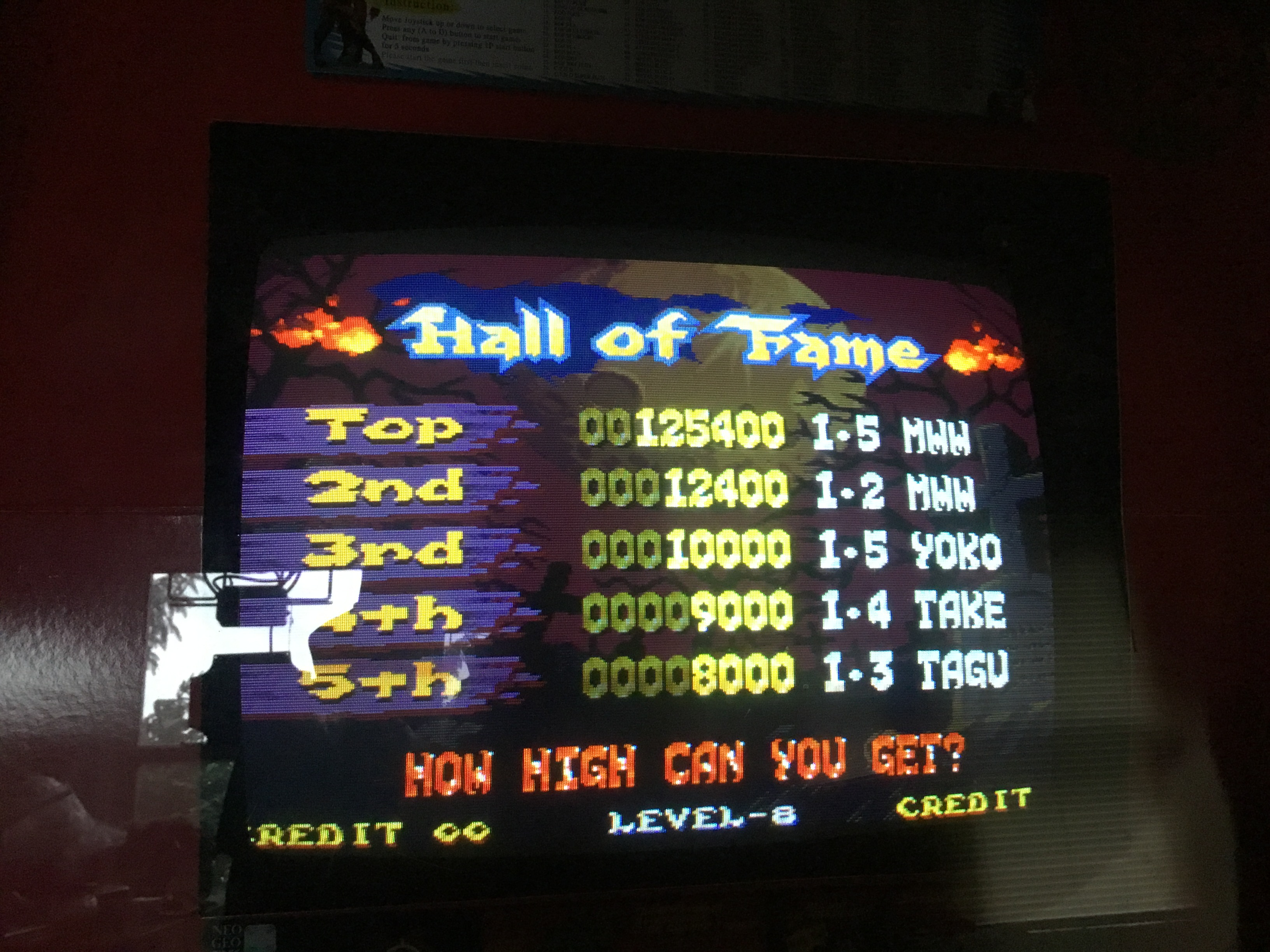 D3fk0nZ3r0: Nightmare in the Dark (Arcade) 125,400 points on 2018-08-19 18:49:54