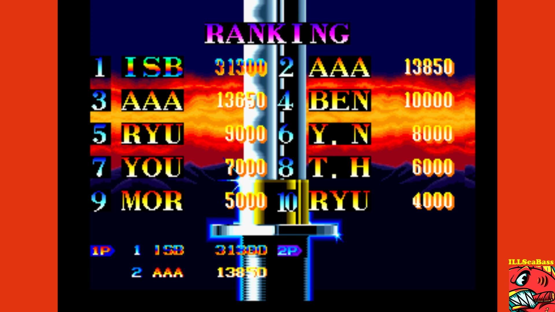 ILLSeaBass: Ninja Commando (Neo Geo Emulated) 31,300 points on 2017-10-18 21:32:00