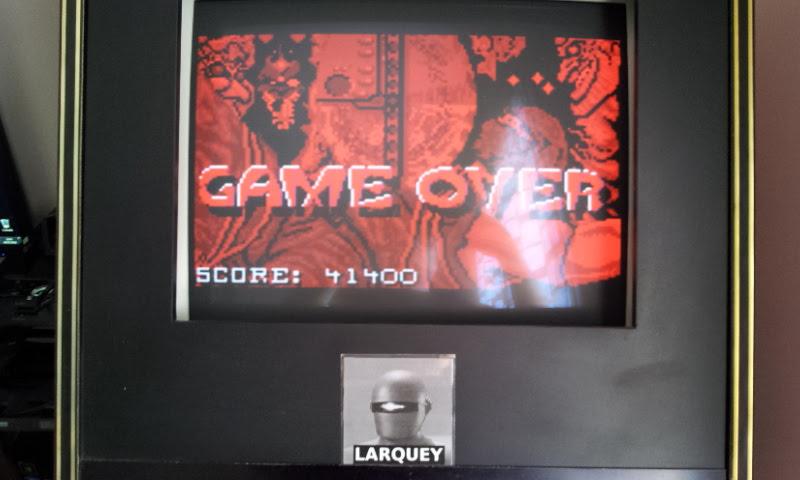 Larquey: Ninja Gaiden (Atari Lynx Emulated) 41,400 points on 2018-05-06 11:48:22