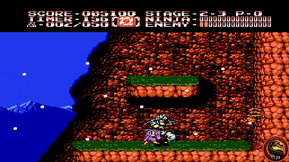 omargeddon: Ninja Gaiden II: The Dark Sword of Chaos (NES/Famicom Emulated) 85,100 points on 2020-10-13 20:28:44