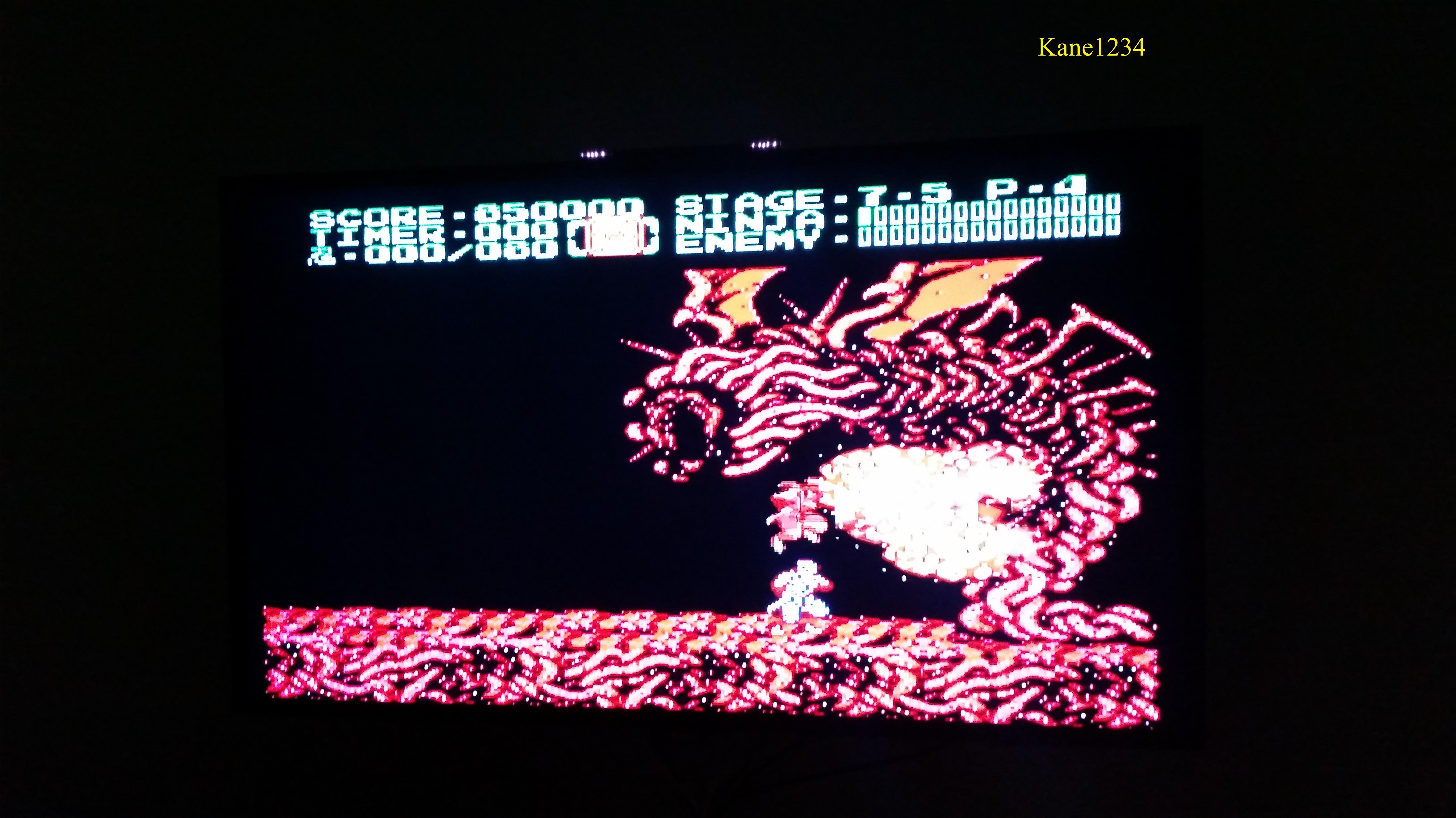 Ninja Gaiden II: The Dark Sword of Chaos 850,000 points