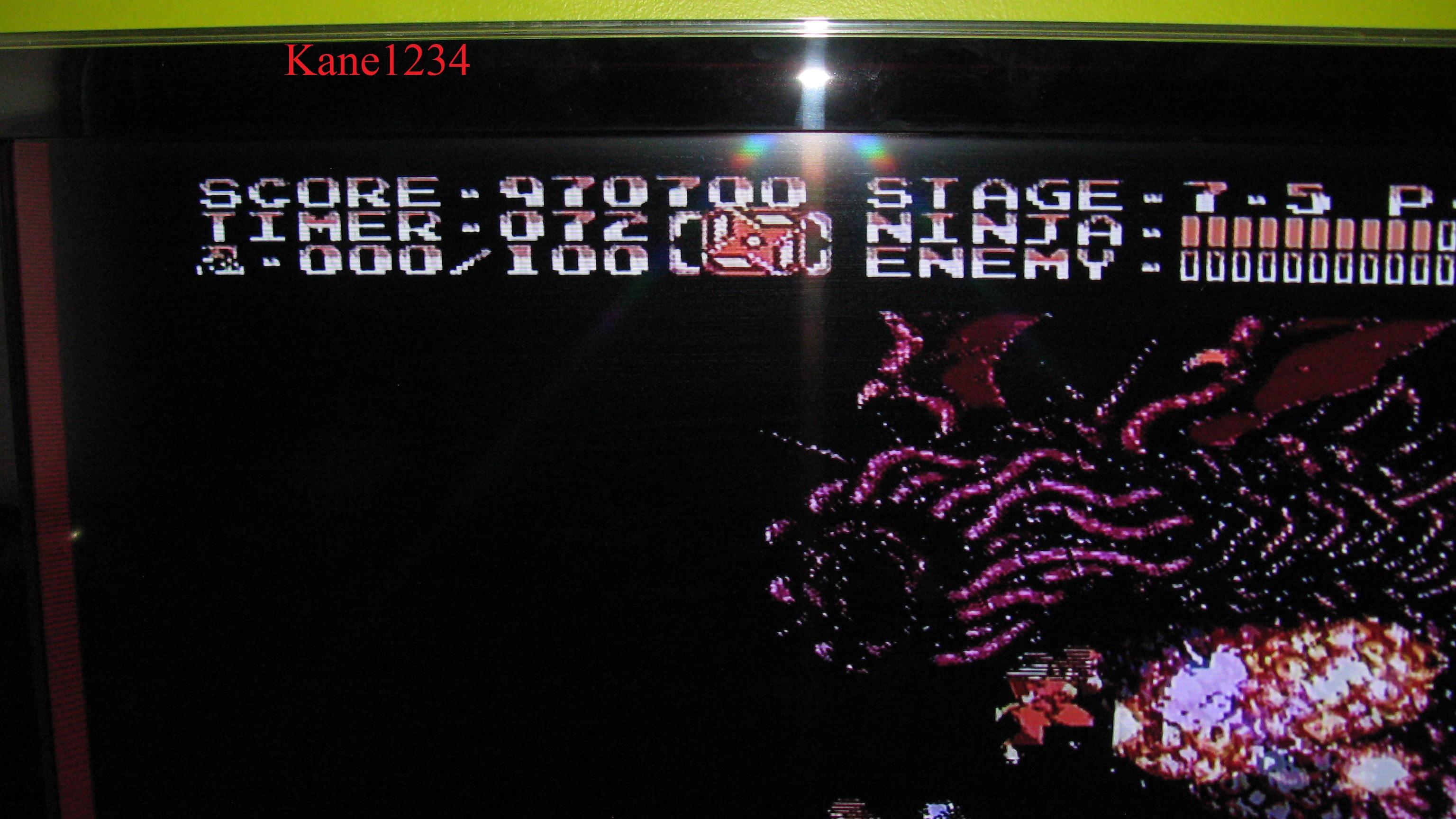 Ninja Gaiden II: The Dark Sword of Chaos 970,700 points