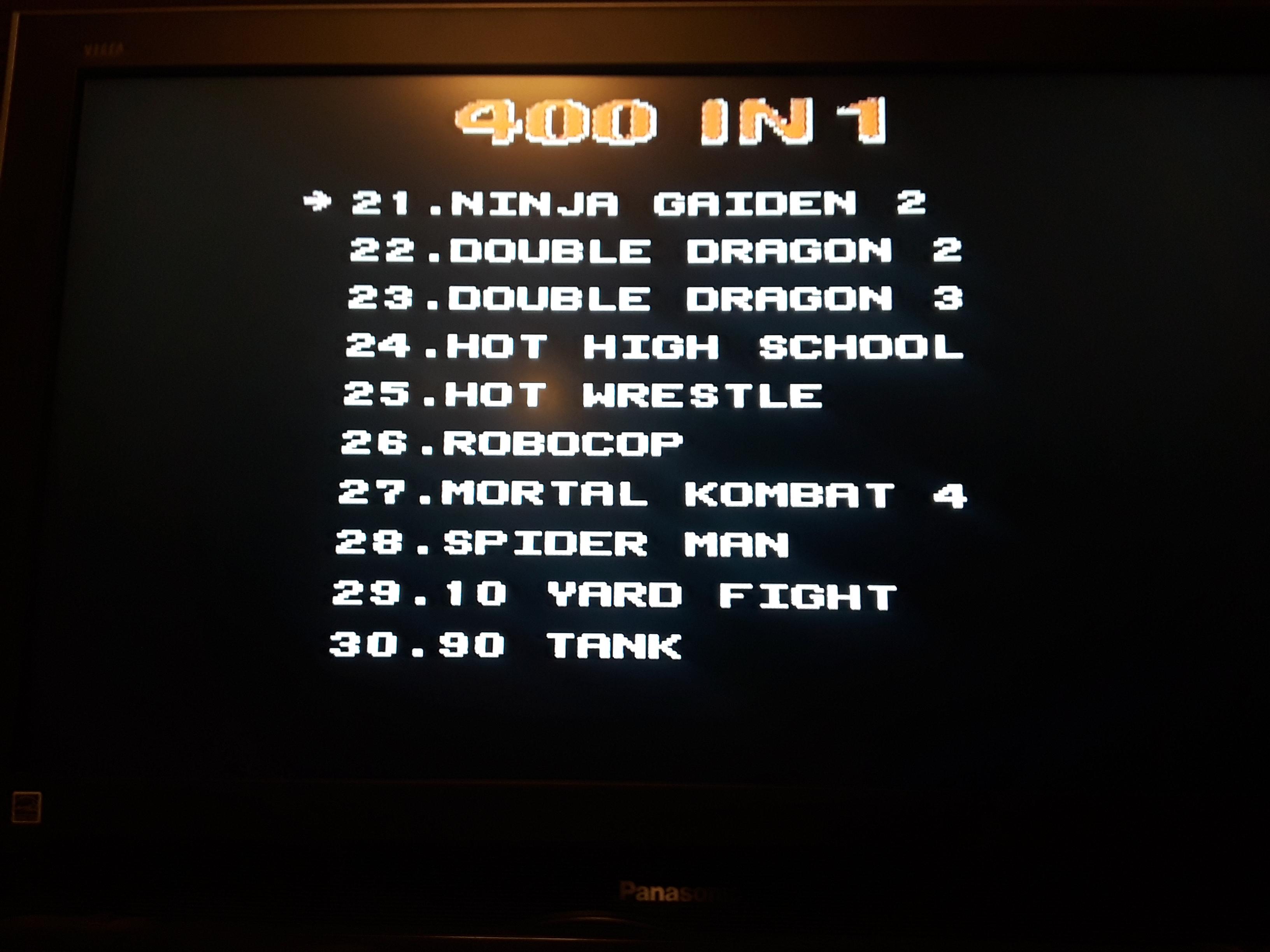 Ninja Gaiden II: The Dark Sword of Chaos 74,440 points