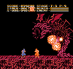 GAMES: Ninja Gaiden II: The Dark Sword of Chaos (NES/Famicom) 2,407,400 points on 2019-12-16 08:48:40