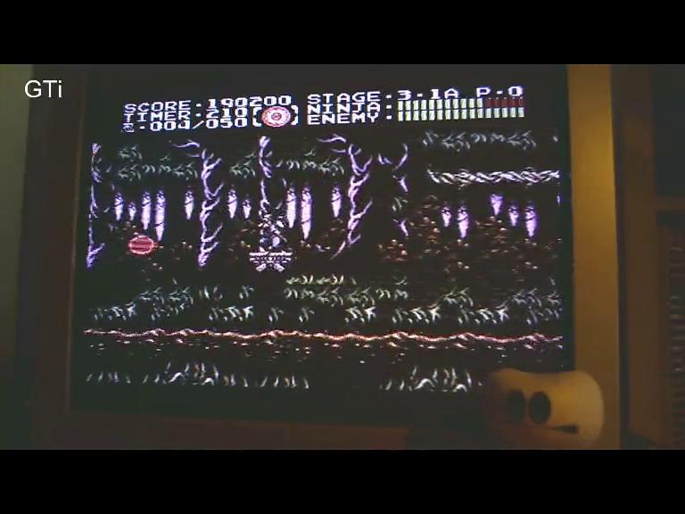 GTibel: Ninja Gaiden III: The Ancient Ship Of Doom (SNES/Super Famicom) 190,200 points on 2016-10-25 01:32:18