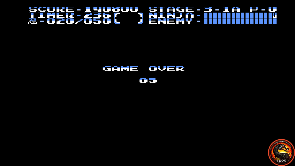 omargeddon: Ninja Gaiden III: The Ancient Ship of Doom (NES/Famicom Emulated) 190,800 points on 2020-10-13 19:43:32