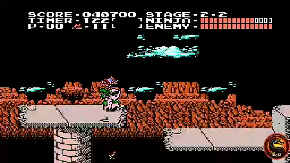 omargeddon: Ninja Gaiden (NES/Famicom Emulated) 48,700 points on 2020-10-13 21:06:08