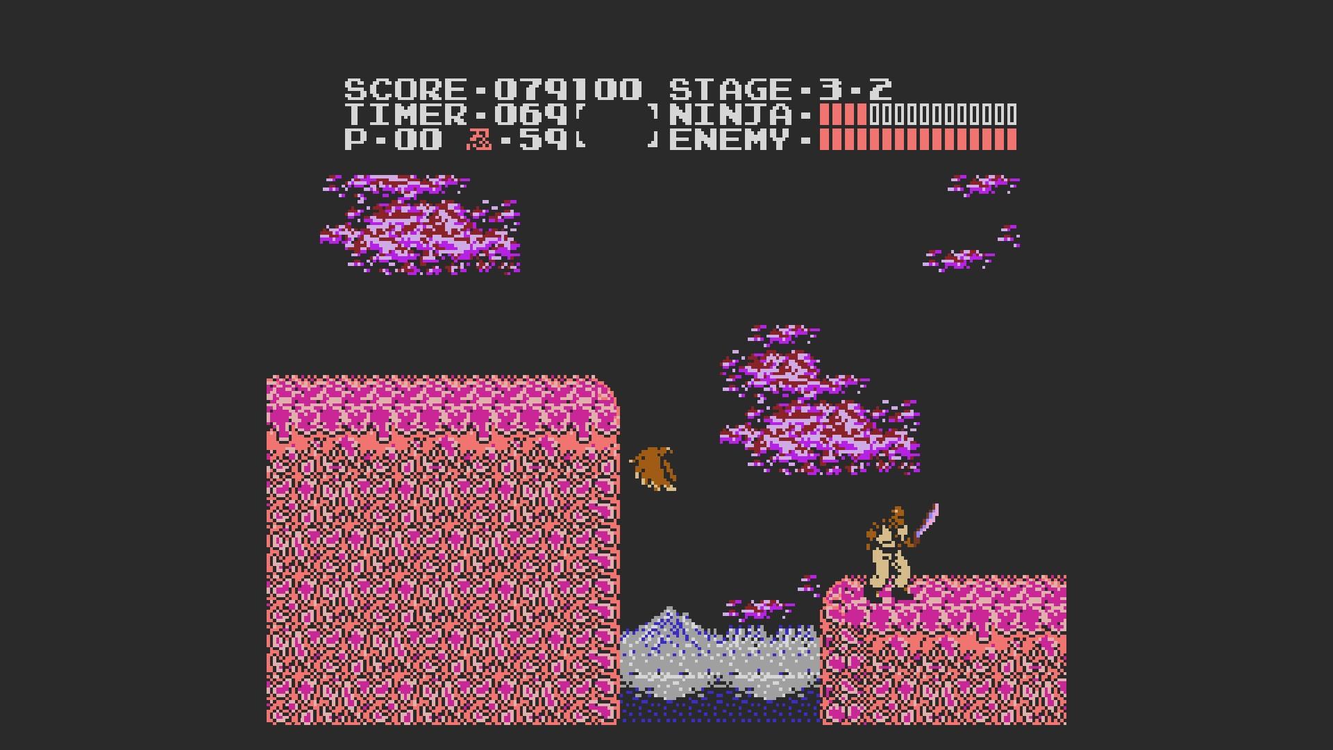 AkinNahtanoj: Ninja Gaiden (NES/Famicom Emulated) 79,100 points on 2020-10-27 07:27:04