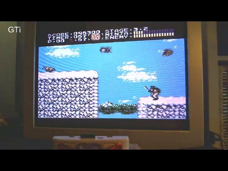 GTibel: Ninja Gaiden (SNES/Super Famicom) 96,300 points on 2016-10-20 07:58:49