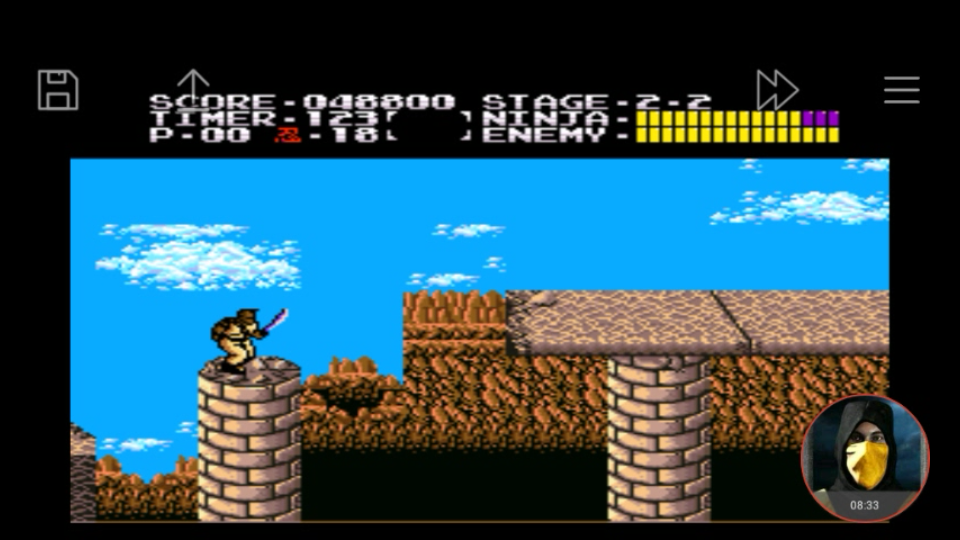 omargeddon: Ninja Gaiden (SNES/Super Famicom Emulated) 48,800 points on 2018-02-11 16:29:49