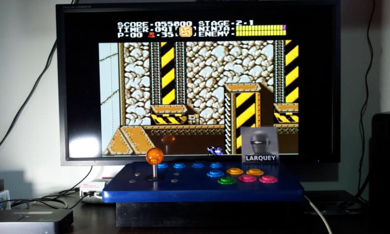 Larquey: Ninja Gaiden (SNES/Super Famicom Emulated) 55,800 points on 2018-05-06 07:10:46