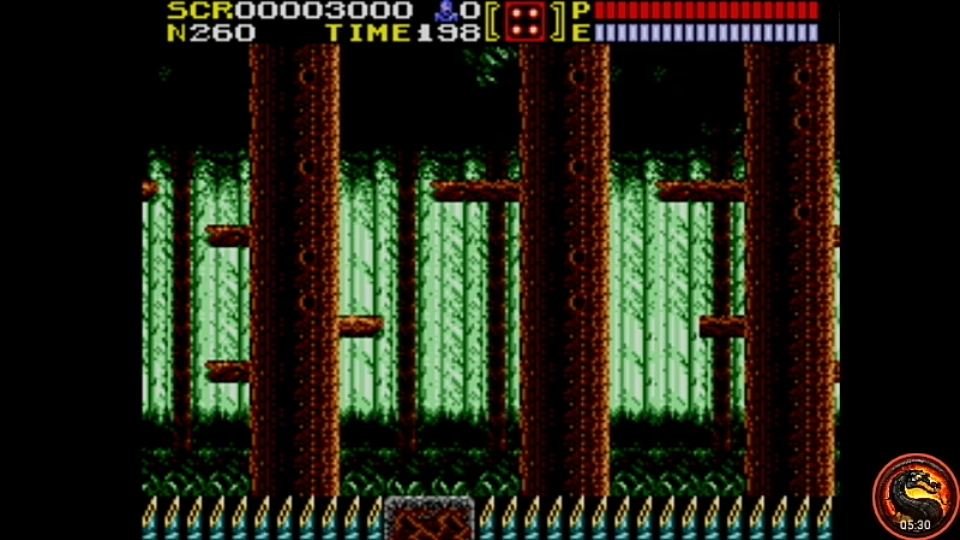 omargeddon: Ninja Gaiden (Sega Master System Emulated) 3,000 points on 2020-10-13 21:52:46