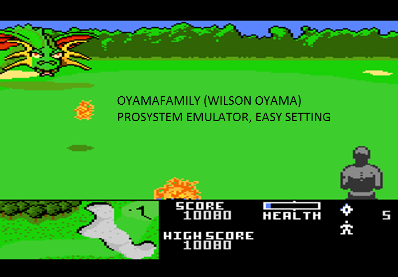 oyamafamily: Ninja Golf: Easy (Atari 7800 Emulated) 10,080 points on 2016-11-14 08:45:17