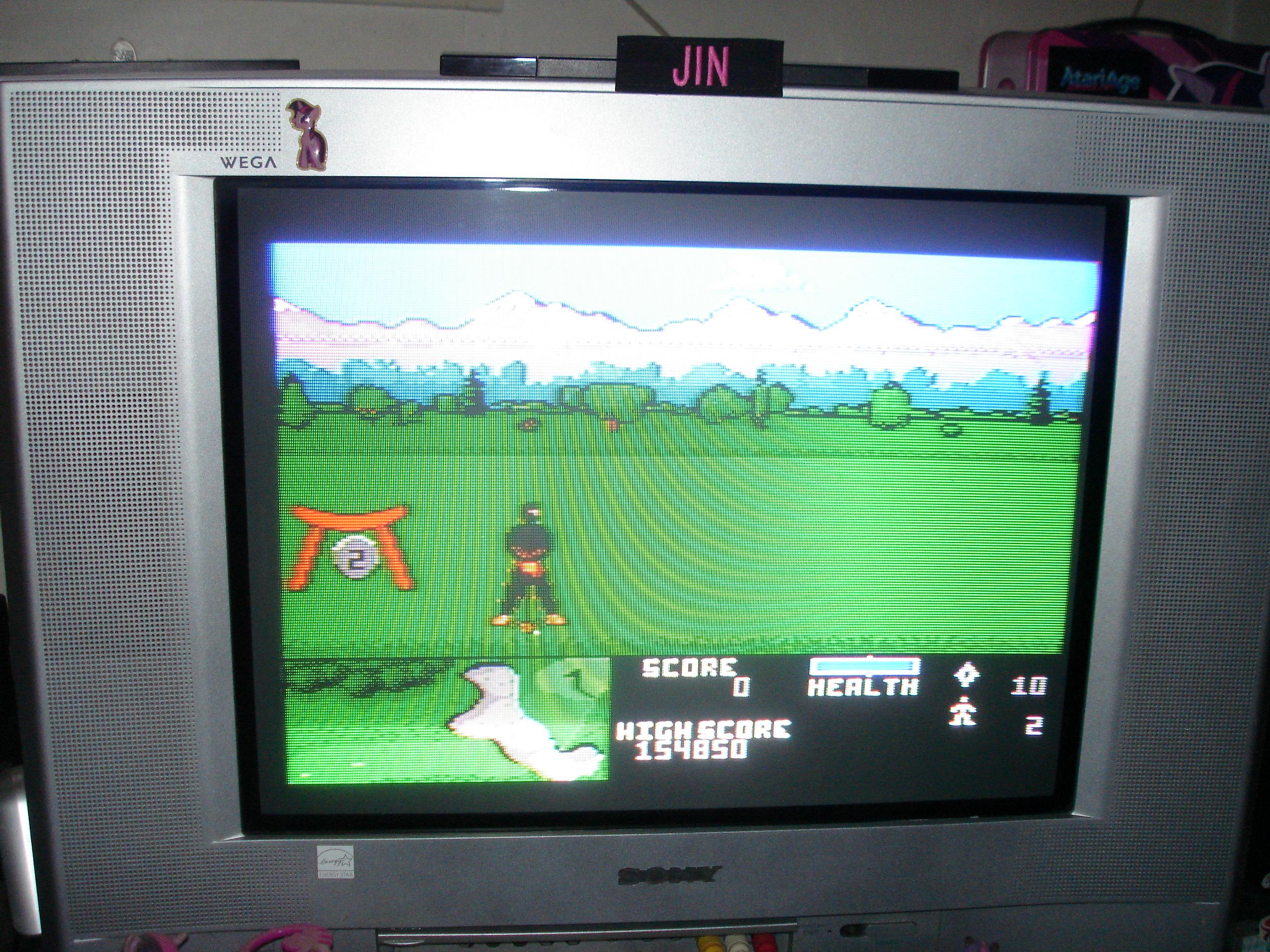 Ninja Golf: Easy 154,850 points