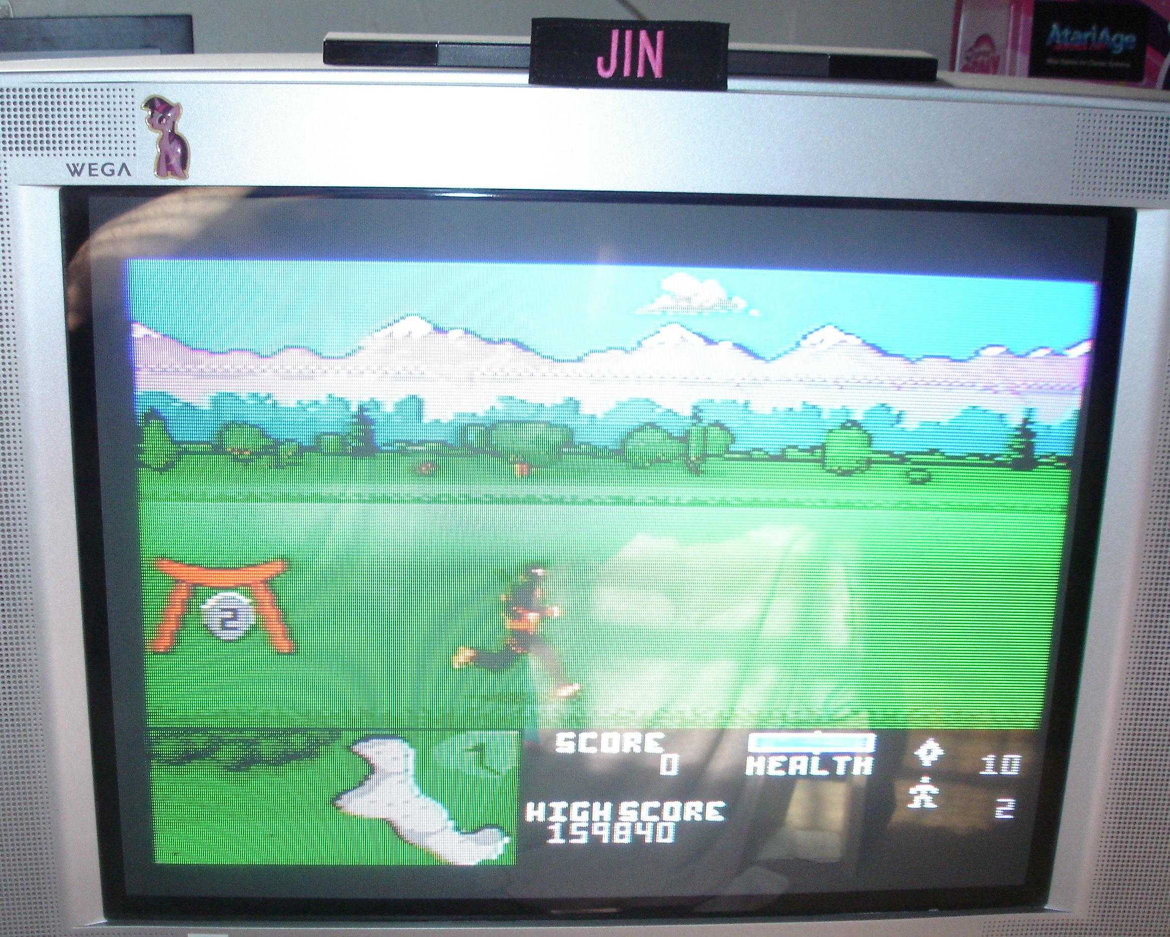 Ninja Golf: Normal 159,840 points