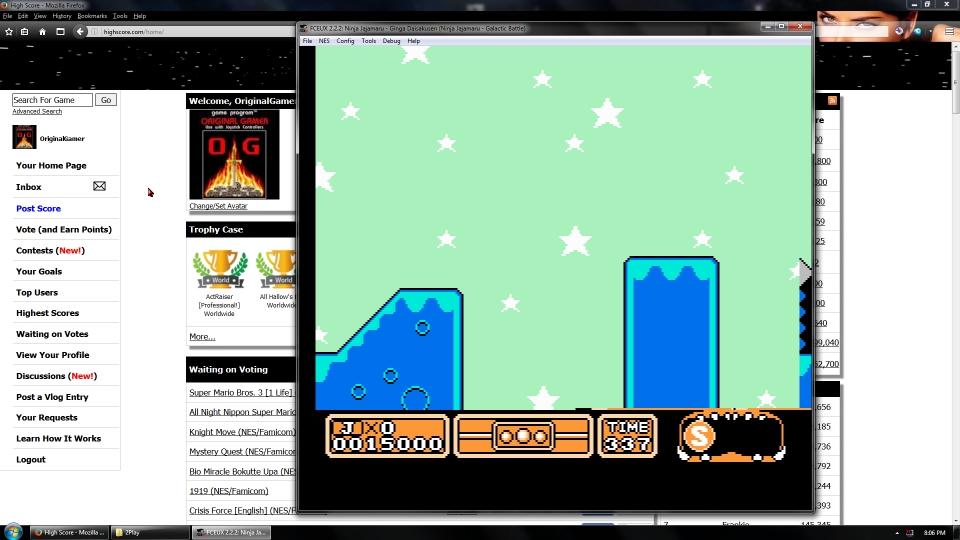 OriginalGamer: Ninja Jajamaru: Ginga Daisakusen (NES/Famicom Emulated) 15,000 points on 2016-09-05 01:45:12