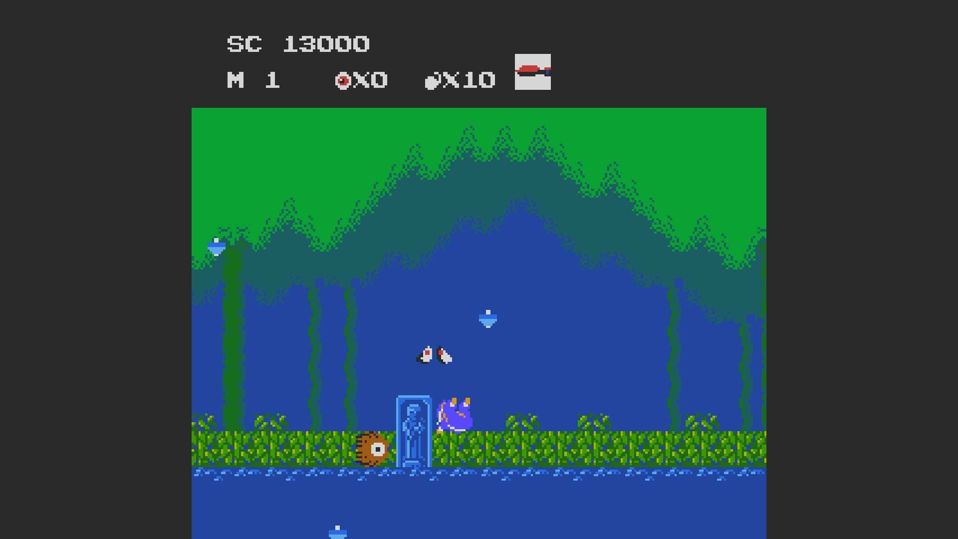 AkinNahtanoj: Ninja Kid (NES/Famicom Emulated) 13,000 points on 2020-08-20 05:53:12