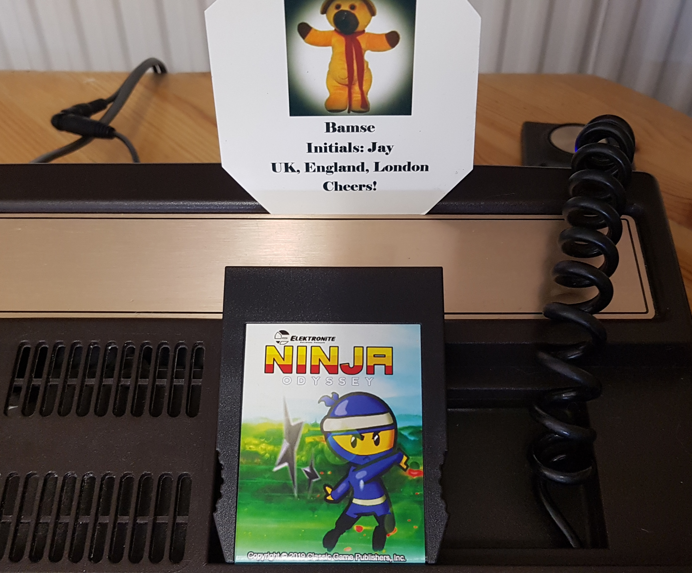 Bamse: Ninja Odyssey (Intellivision) 46,300 points on 2019-03-18 03:50:06