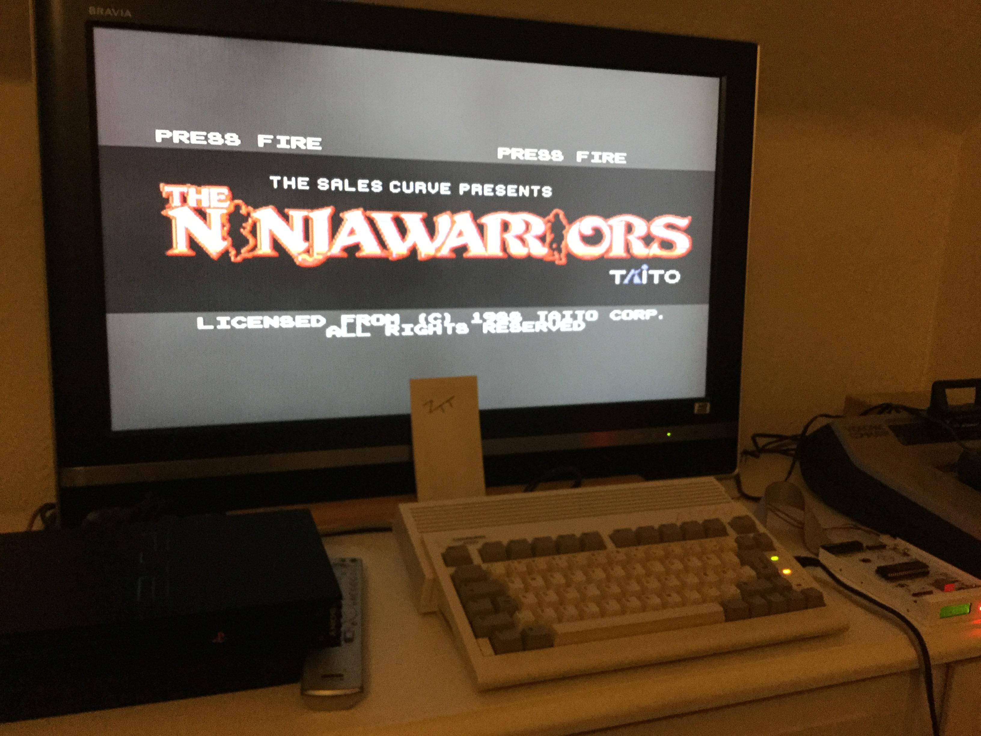 Frankie: Ninja Warriors (Amiga) 17,400 points on 2017-10-27 12:34:01