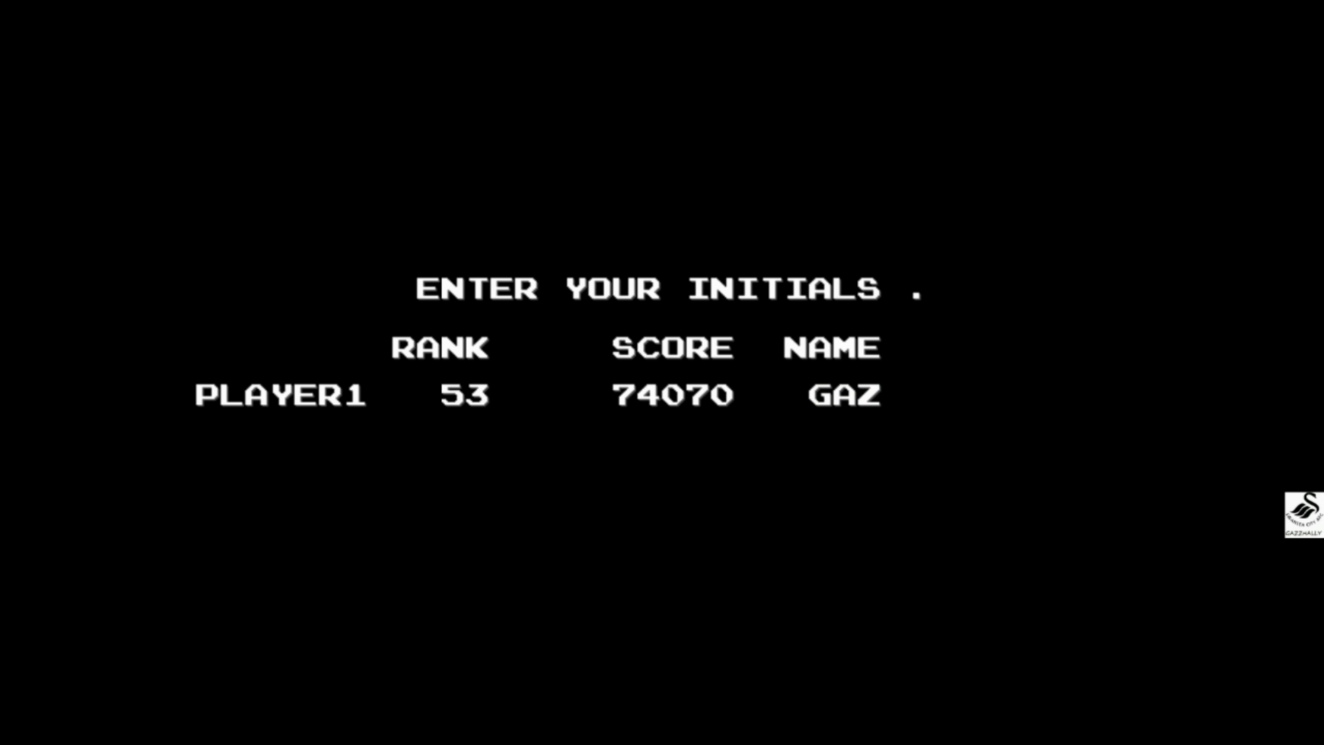 Ninja Warriors 74,070 points