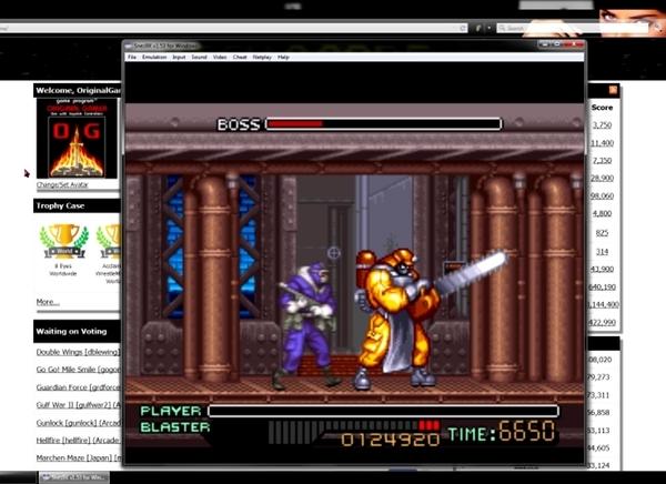 OriginalGamer: Ninja Warriors [Normal] (SNES/Super Famicom Emulated) 124,920 points on 2015-06-18 22:13:23