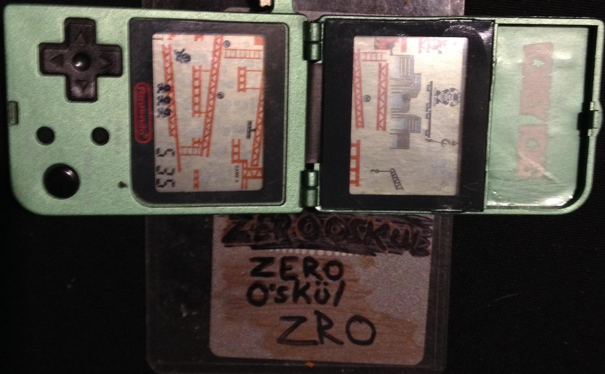 zerooskul: Nintendo Mini Classics: Donkey Kong [Game A] (Dedicated Handheld) 810 points on 2019-09-17 15:31:18