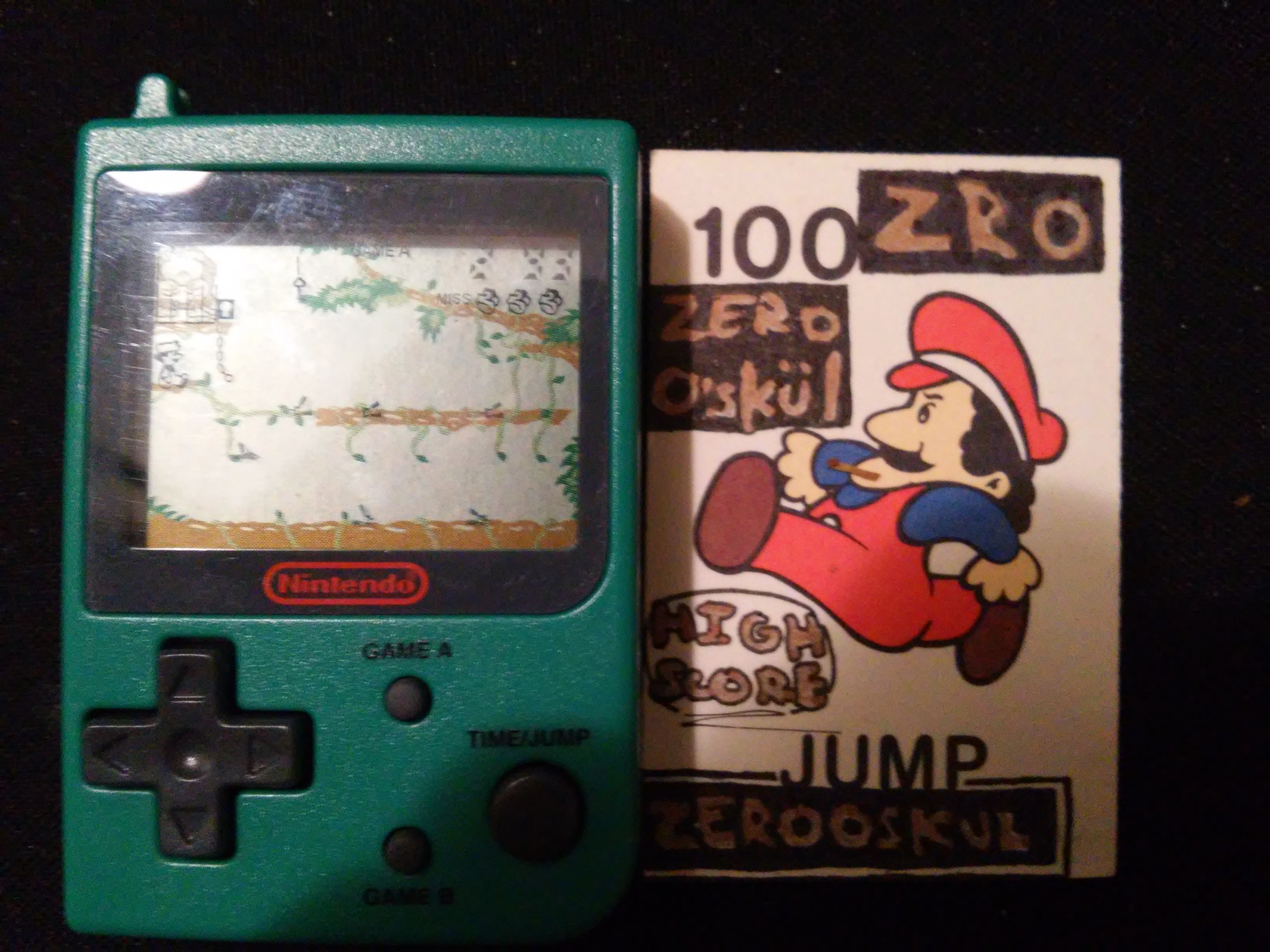 Nintendo Mini Classics: Donkey Kong Junior 293 points