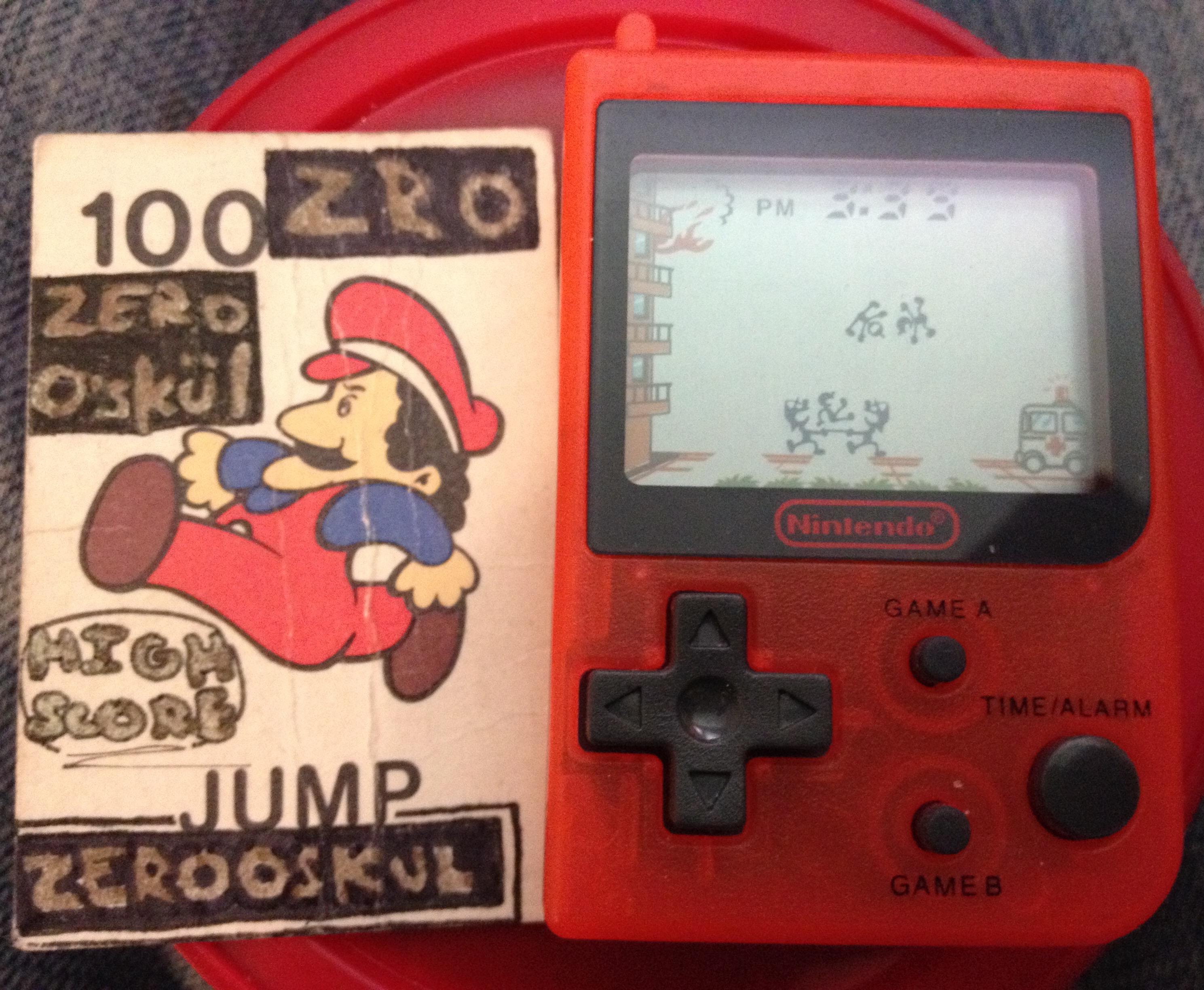 Nintendo Mini Classics: Fire [Game A] 898 points