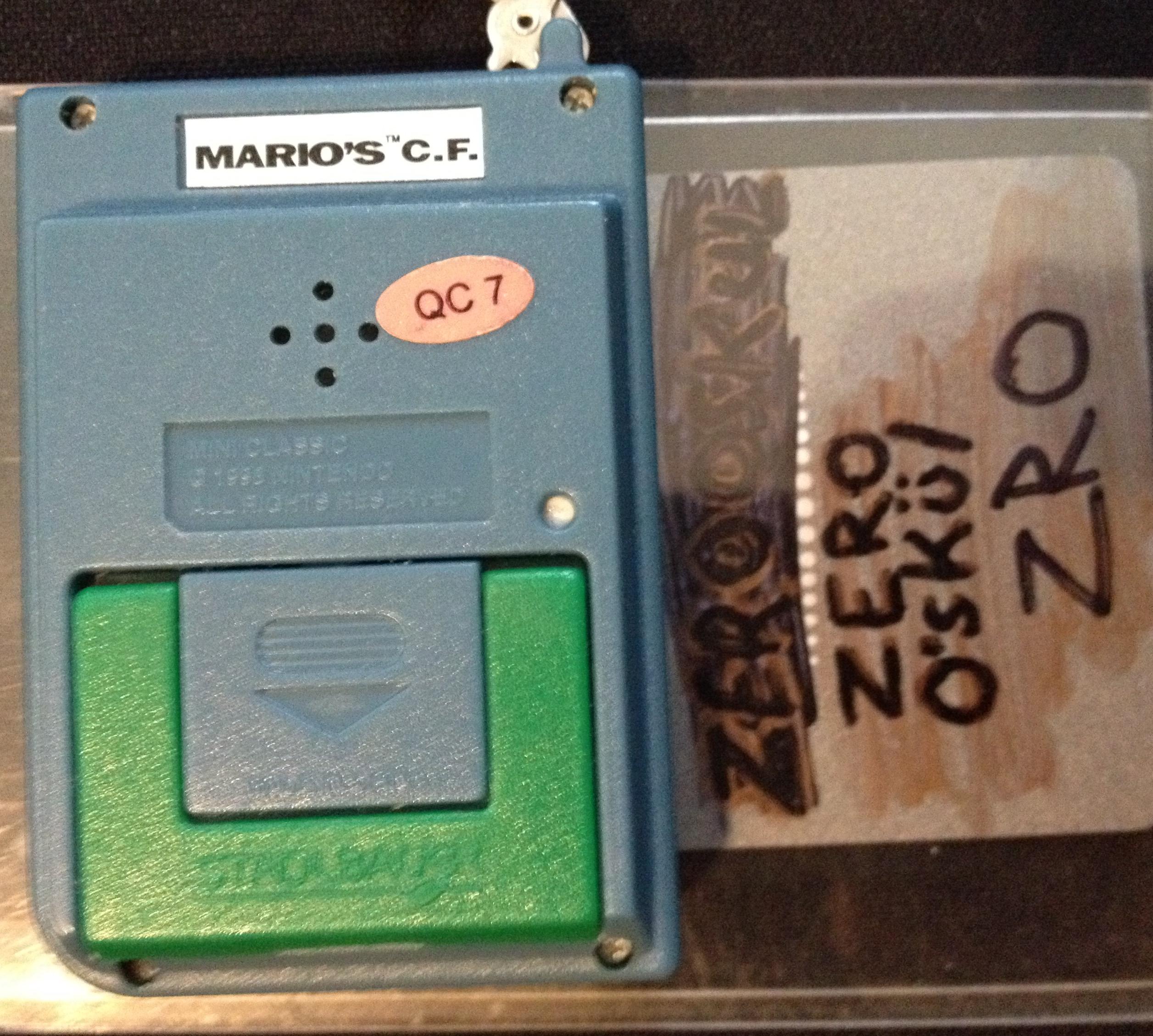 zerooskul: Nintendo Mini Classics: Mario