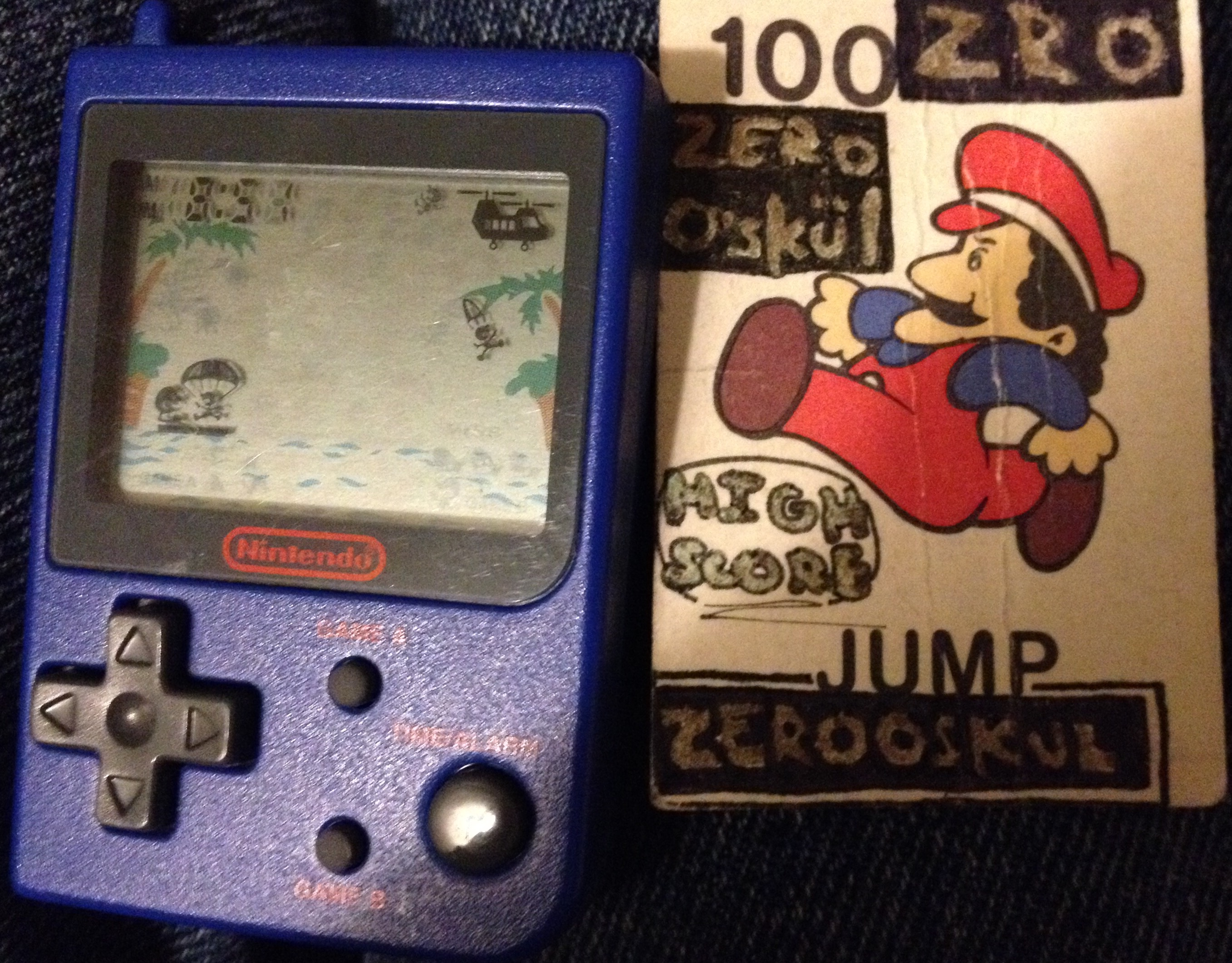 zerooskul: Nintendo Mini Classics: Parachute [Game A] (Dedicated Handheld) 778 points on 2019-06-20 19:50:38