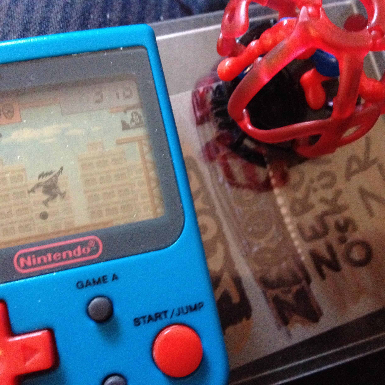 Nintendo Mini Classics: Spider-Man [Game A] 316 points
