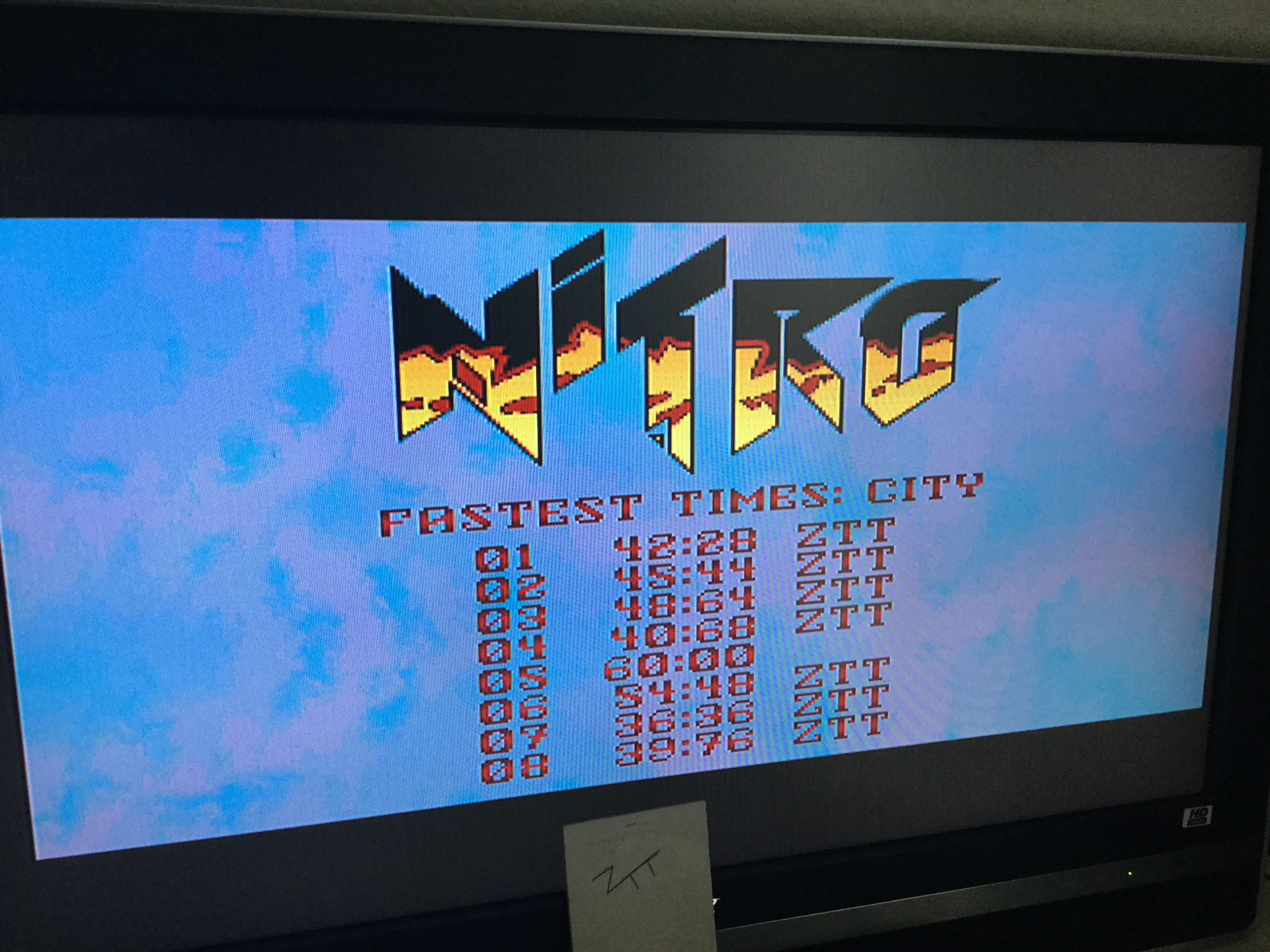 Frankie: Nitro [Track 6] (Amiga) 0:00:54.48 points on 2019-02-11 00:06:31