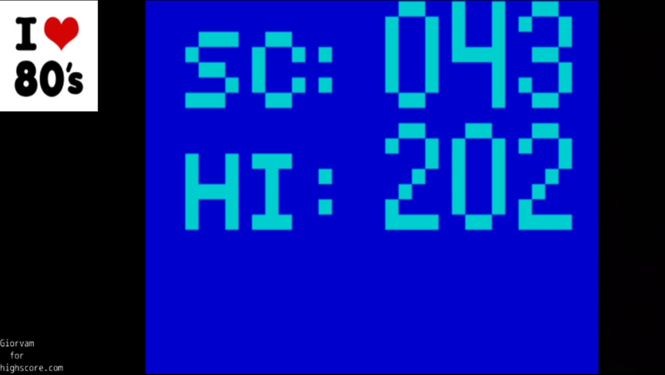 Giorvam: No 1 (ZX Spectrum Emulated) 43 points on 2020-03-07 05:26:07