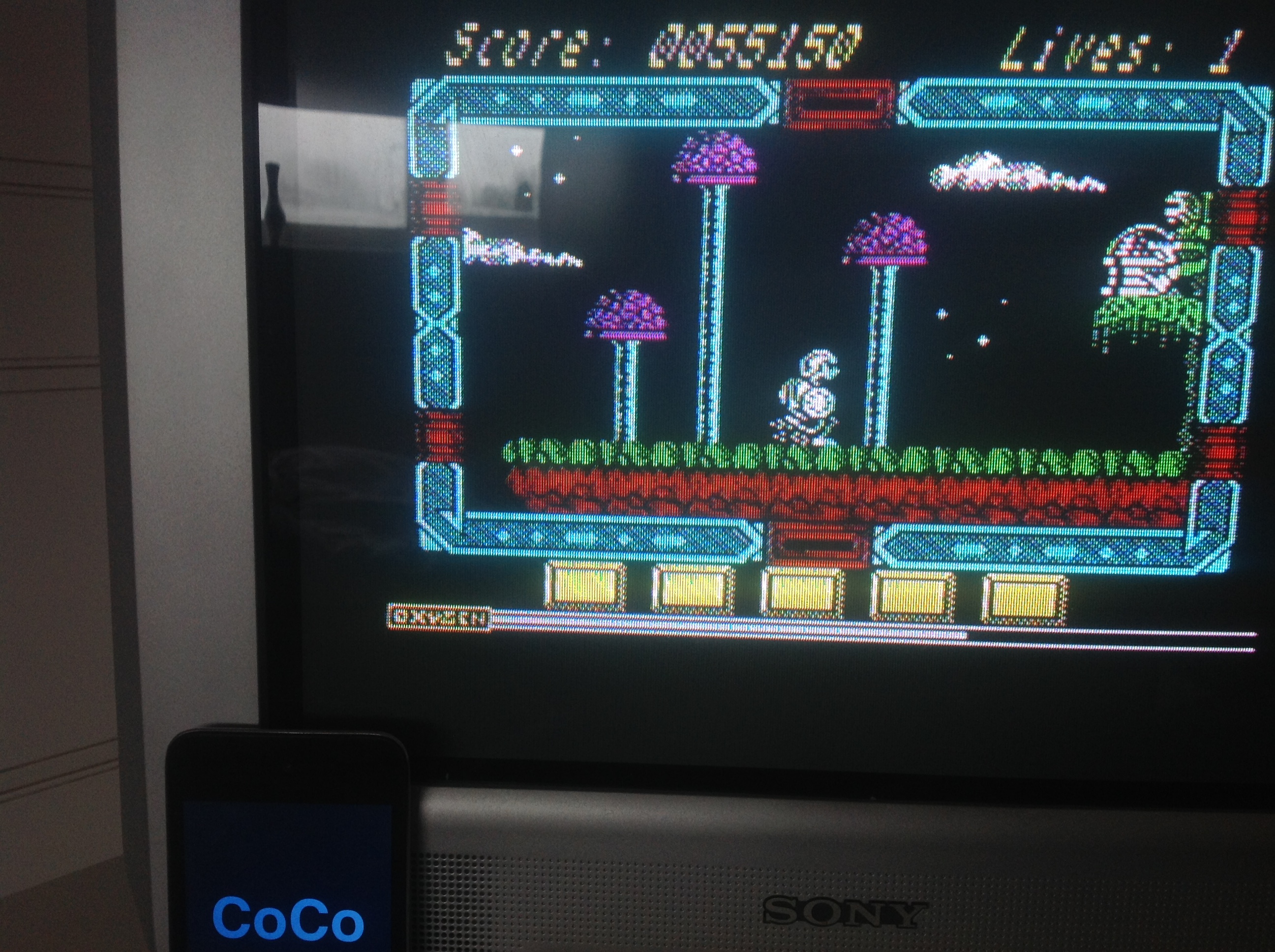 CoCoForest: North Star (ZX Spectrum) 55,150 points on 2016-01-18 04:18:29
