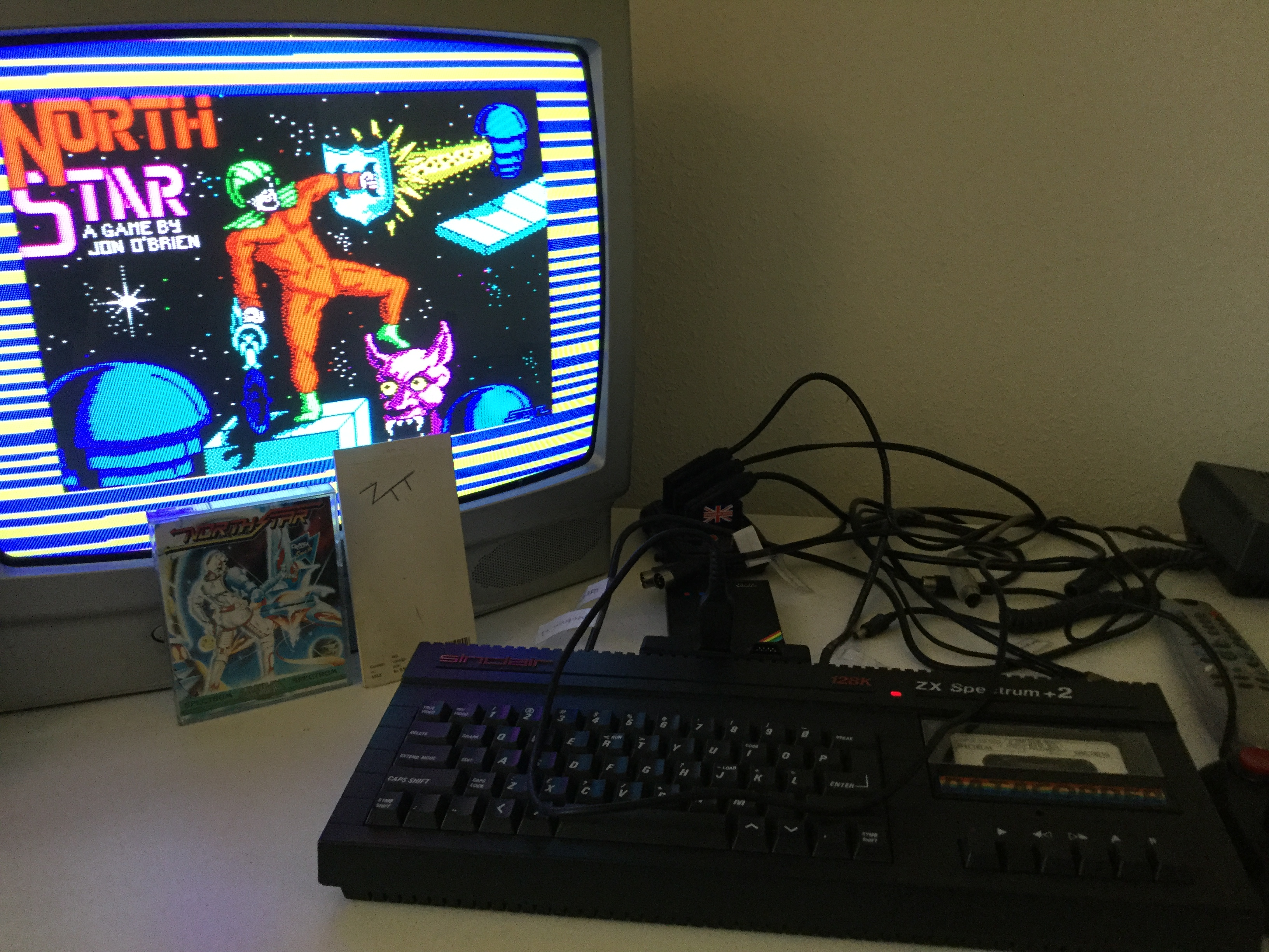 Frankie: North Star (ZX Spectrum) 73,650 points on 2019-02-17 05:28:16