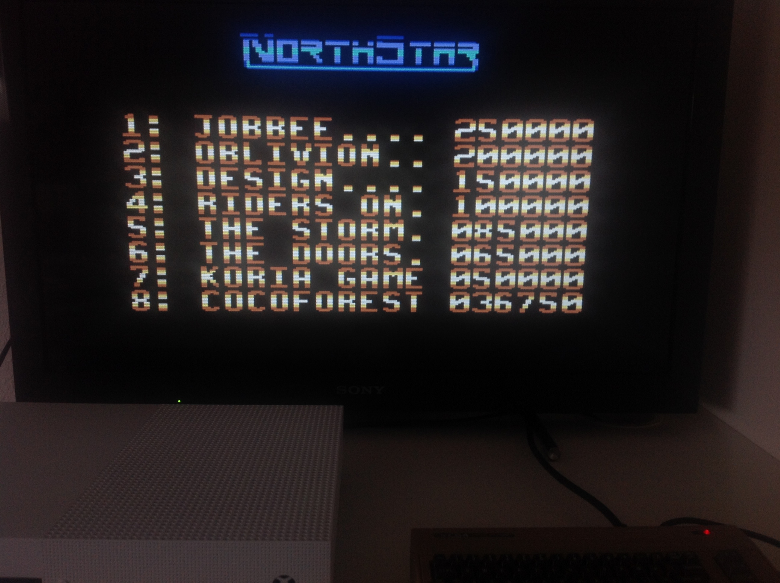 CoCoForest: Northstar (Commodore 64 Emulated) 36,750 points on 2018-04-20 03:29:00